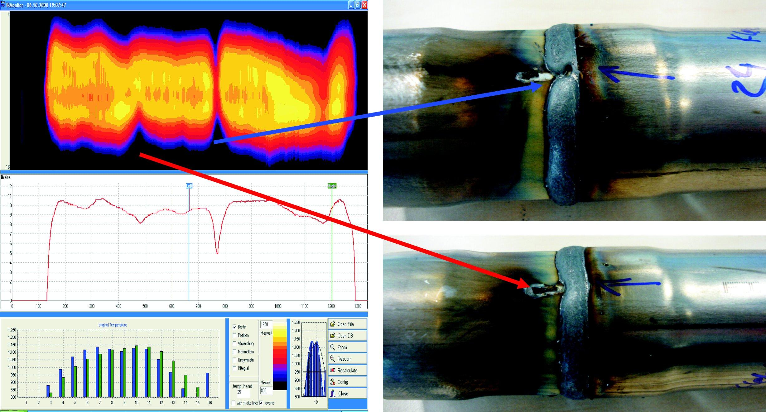 HKS ThermoProfilScanner Fehleranalyse Beispiel