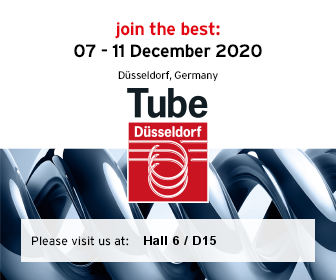 Tube 2020 Messebanner